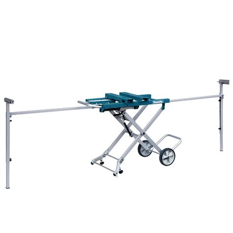 makita table saw with stand makita deawst05 portable mitre saw stand with trolley
