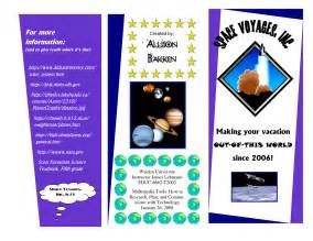 planet brochure template solar system brochure project pictures to pin on