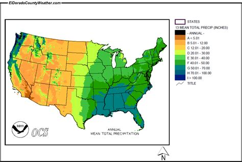 us precipitation forecast map united states yearly annual and monthly total