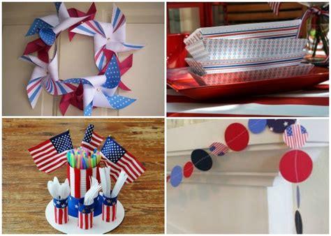 Diy Memorial Day Decorations by 16 Memorial Day Crafts Patriotic Bbq Ideas And Diy