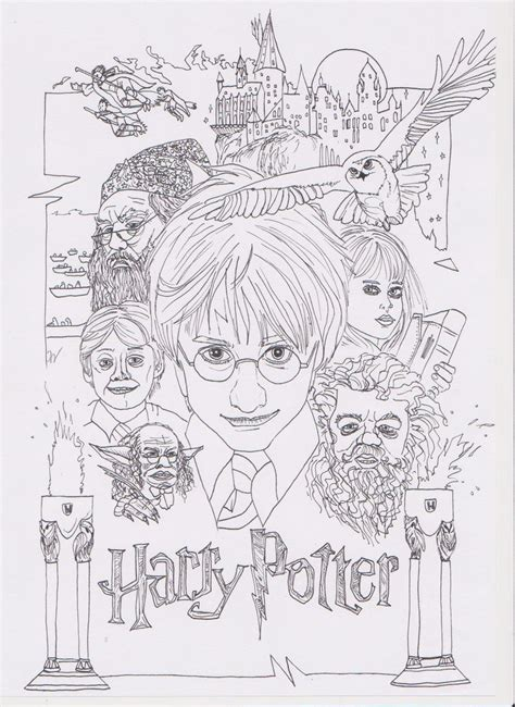 philosophy coloring book review harry potter and the philosophers coloring pages