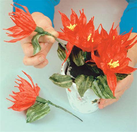 fiori di carta per natale carta e cartone bricoportale fai da te e bricolage