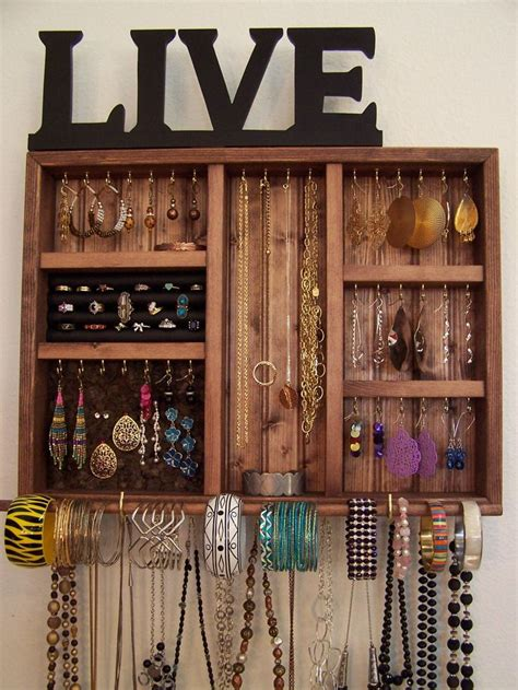make jewelry organizer best 20 organize bracelets ideas on