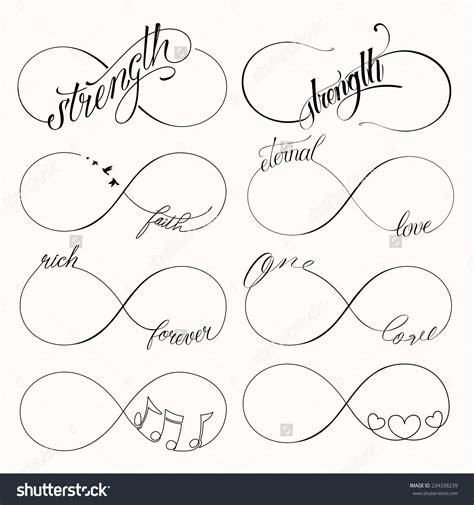 pattern your idea 55 infinity symbol tattoo designs
