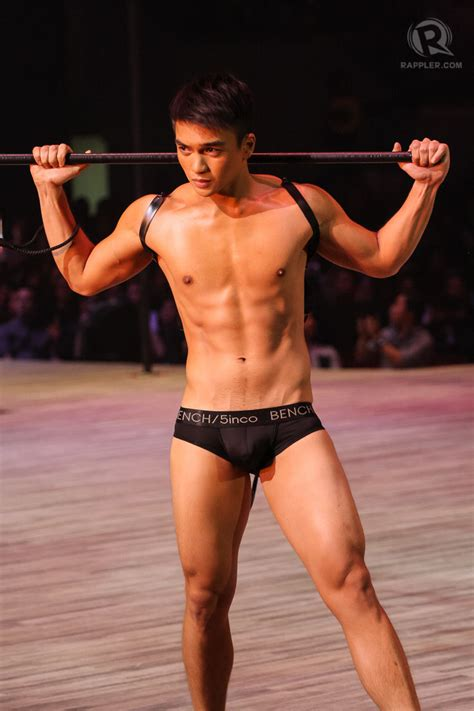 bench underwear show best of the night who stood out at the bench naked truth
