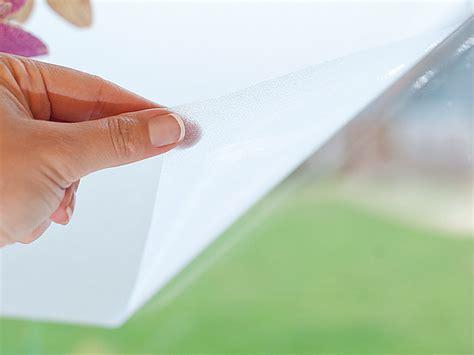 Sichtschutzfolie Fenster Coop by Infactory Sichtschutzfolie Milchglasfolie Statisch
