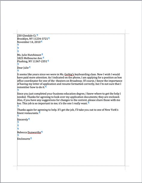 Business Letter Format Of Wisconsin Personal Business Letter Custom College Papers