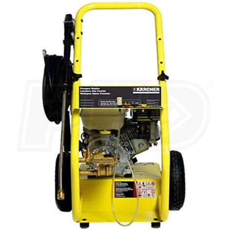 karcher hddh prosumer  psi pressure washer  honda gx engine