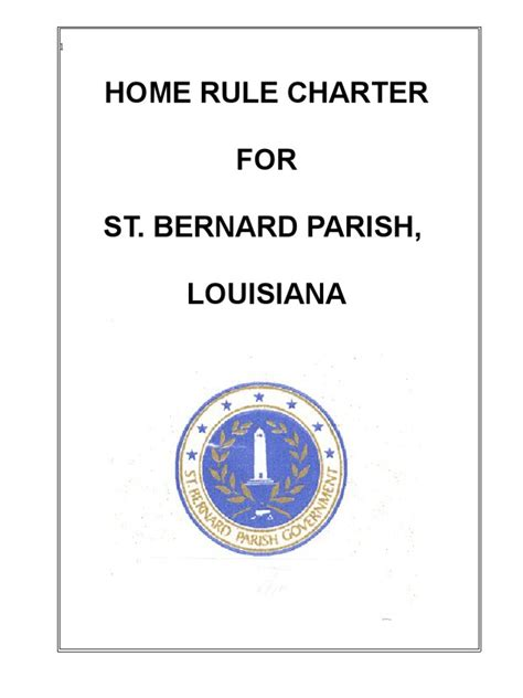 st bernard parish home rule charter veto presidents of