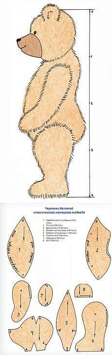 simple teddy bear pattern by azaleapoena on deviantart best 25 teddy bear crafts ideas on pinterest bear