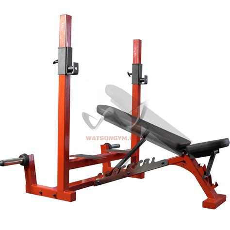 adjustable olympic bench watson gym equipment