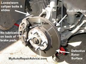 what causes squeaking brakes on a car
