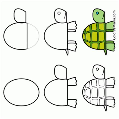 imagenes de tortugas faciles para dibujar dibujo tortuga para colorear dibujo tortuga para colorear