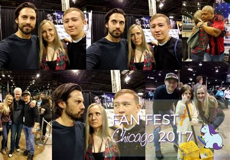 heroes and villains fan 2017 milo ventimiglia at heroes villains walker stalker con