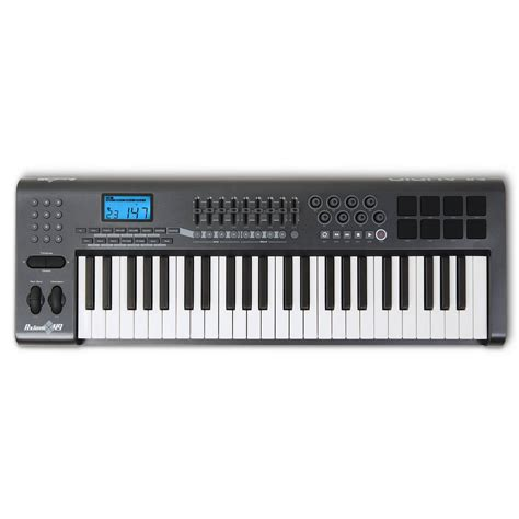 Keyboard M Audio m audio axiom 49 midi keyboard 49 key midi keyboard from inta audio uk