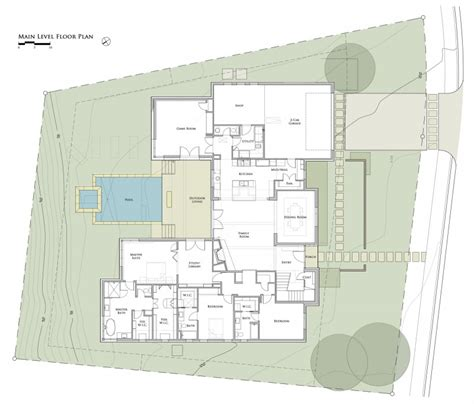 Ancient Roman Villa Floor Plan by Cat Mountain Residence By Cornerstone Architects Homedsgn