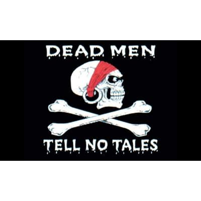 No New Tale To Tell 3 by Pirate Skulls And Crossbones Flag Partyrama Co Uk