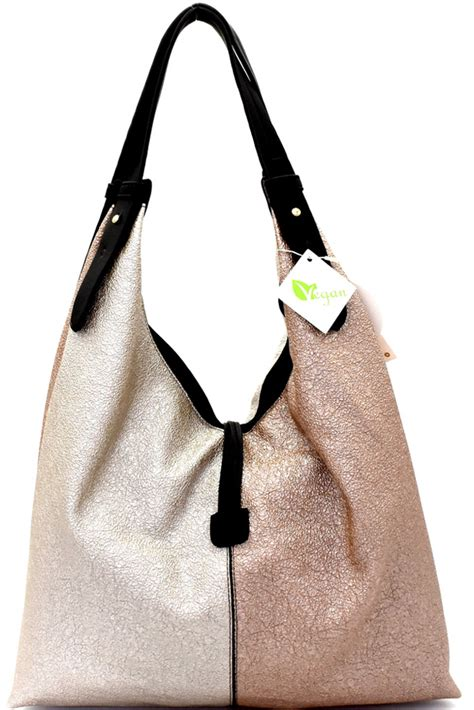 Fashion Hobo Lukis 3in1 Rc2022 ld1081wp gold string accent metallic color block hobo