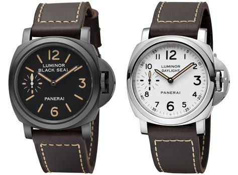 Jam Panerai Daylight Black panerai luminor 2014