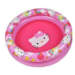 kitty inflatable kiddie wading pool grizzly supply