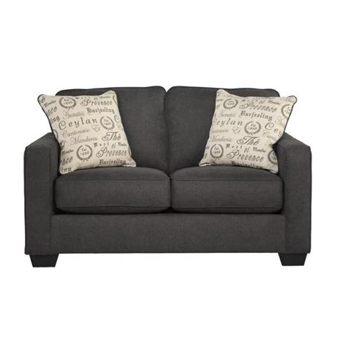 ashley furniture microfiber loveseat signature design by ashley furniture alenya microfiber