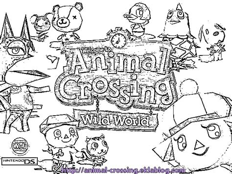 coloring pages of animal crossing new leaf free coloring pages of animal crossing