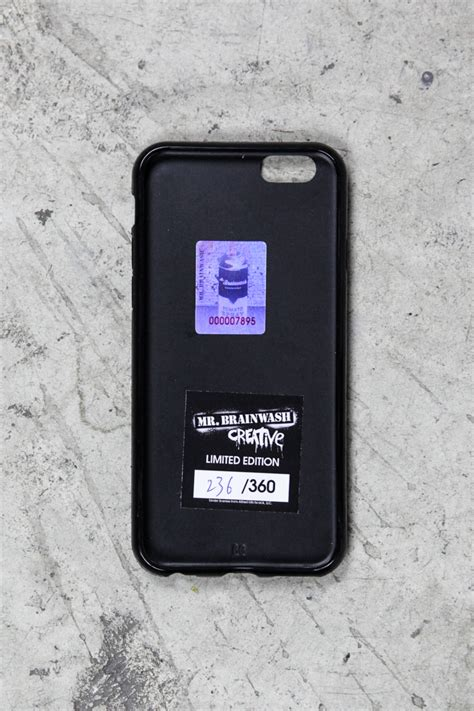 Limited Edition Iphone 7 Silicone Cocoa hitchcock iphone 6 with 3d effect lulu laboratorium
