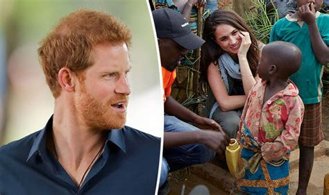 why prince harry took meghan markle to africa and it s not to get engaged royal news