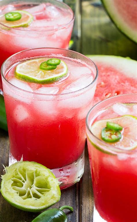 jalapeno simple syrup jalapeno watermelon margarita recipe spicy simple