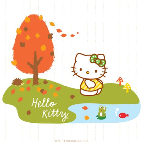 hello kitty autumn wallpaper sanrio hello kitty hello kitty friends pinterest