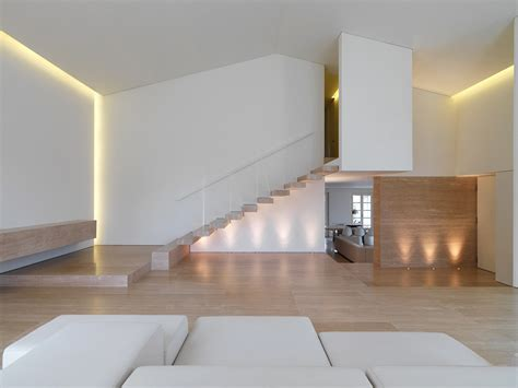 home design minimalist lighting stairs minimalist interior in tuscany italy by victor