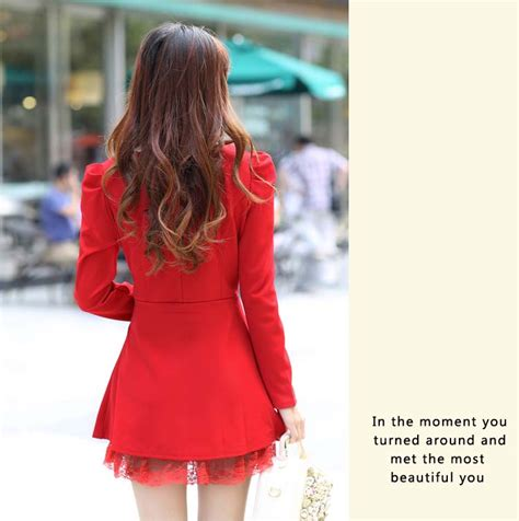 Dress Lace Merah Untuk Natal Dress Terbaru Dress Harga Grosir mini dress merah natal terbaru model terbaru jual murah import kerja