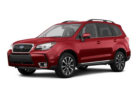 subaru forester red 2017 subaru forester red 200 interior and exterior images