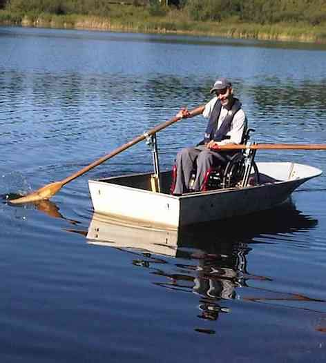 wheelchair fishing boat canada man invents boat for wheelchair canoeing good