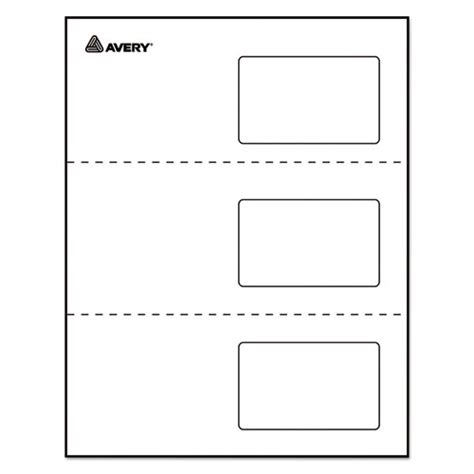avery laminated id cards template ave5361 avery laminated laser inkjet id cards zuma