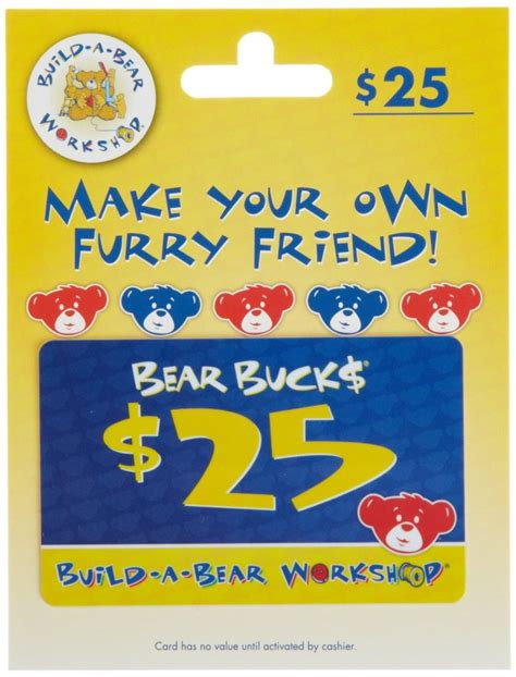Build A Bear Gift Card - 25 gc build a bear workshop giveaway powered by mom