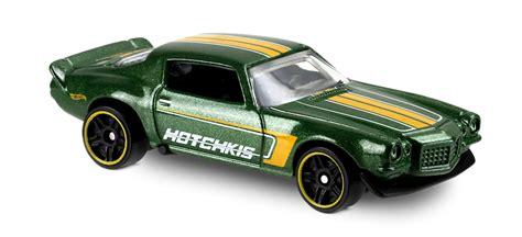 Hotwheels 70 Camaro 33 70 camaro 174 in green hw speed graphics car collector wheels