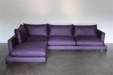 Purple Sofas For Sale 187 Flexform Quot Island Quot L Shape