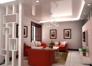 living room interior design sofa partition 3d partition