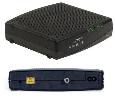 tool reset modem sg arris touchstone cm820 cable modem