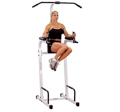 vertical bench leg raise powerline vertical knee raise pvkc82w aibi fitness
