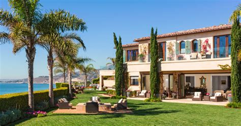 yolanda and david foster list custom malibu estate for 27