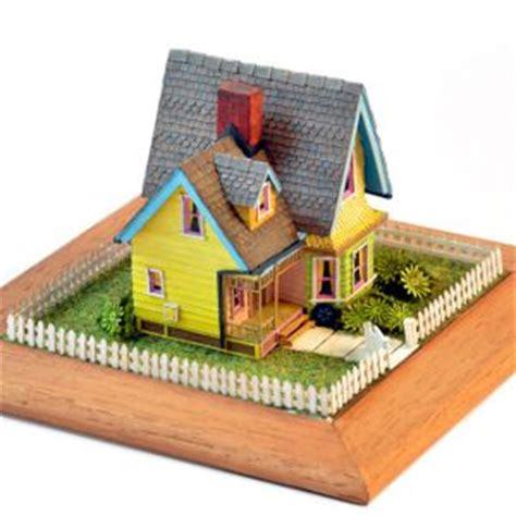 Small House Design n scale themodelmaker