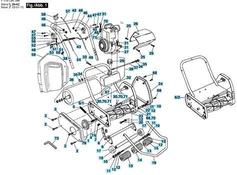 qualcast classic 35s parts diagram qualcast classic petrol 35s spares and spare parts
