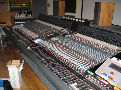 neve recording console neve vx72 mixing console funky junk classic catalogue
