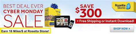 rosetta stone while driving great deal 18x united miles and best price on rosetta
