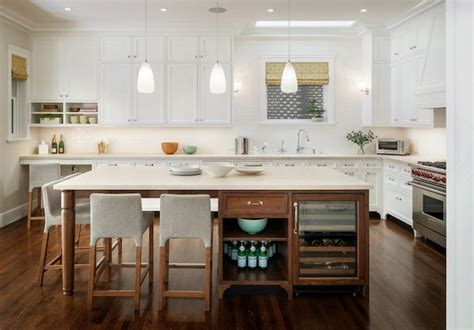 kitchen island with refrigerator kitchen island wine fridge contemporary kitchen
