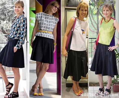 how to wear an a line skirt 40