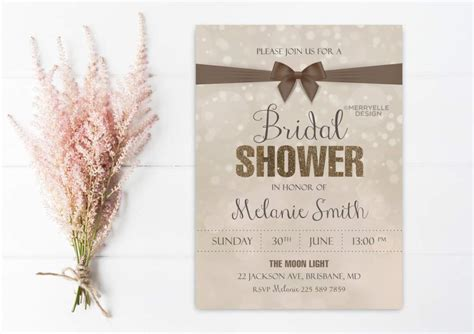 bridal shower invite template wedding shower invitation templates wedding invitation