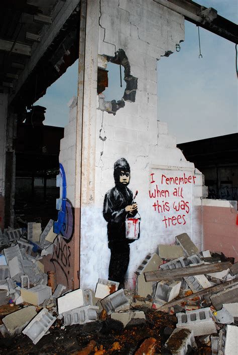 Earth Wall Mural detroit gallery to sell controversial banksy mural it